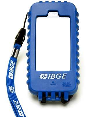 Protetor de celular IBGE